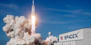 Décollage Fusée Falcon HEAVY Space X