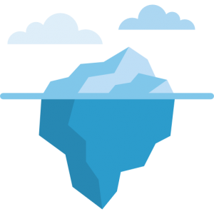 Iceberg marché de l'emploi
